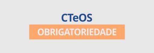 CT e OS obrigatoriedade.
